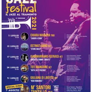 """Al via la IV Edizione dell' """"Arco Azzurro Festival Jazz"""", musica al tramonto"""